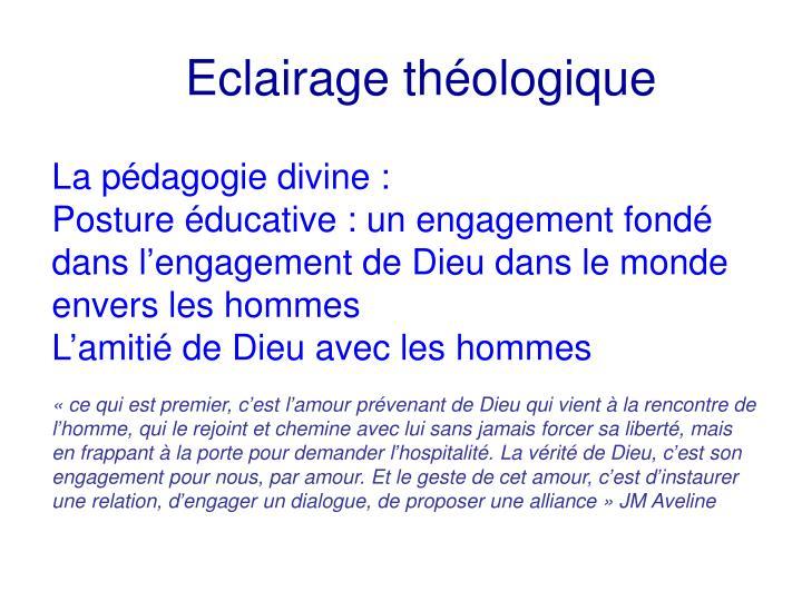 Eclairage théologique