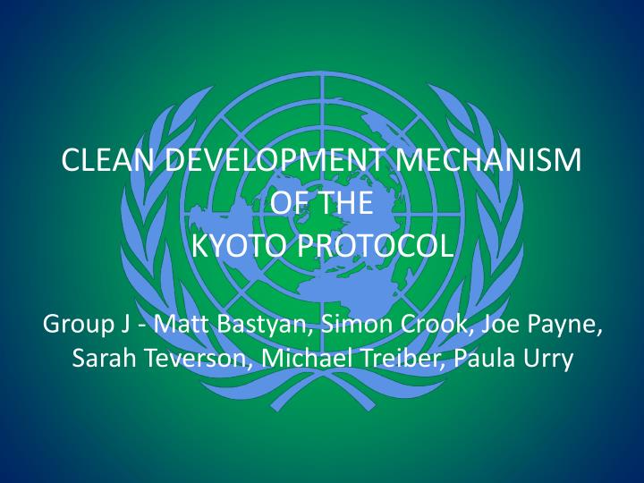 cdm mechanism Clean development mechanism (cdm) is one of the flexible initiatives proposed to enable parties to the convention and those that have ratified the kyoto protocol meet their kyoto commitments.