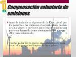 compensaci n voluntaria de emisiones