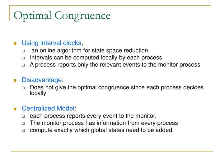 Optimal Congruence