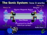 the sonic system how it works