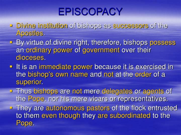 EPISCOPACY