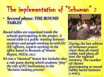 the implementation of schuman 2