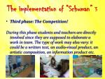the implementation of schuman 3