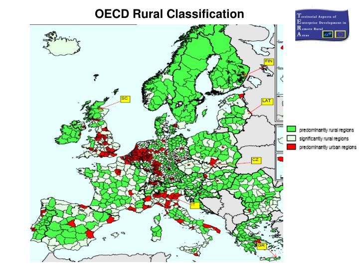 OECD Rural Classification