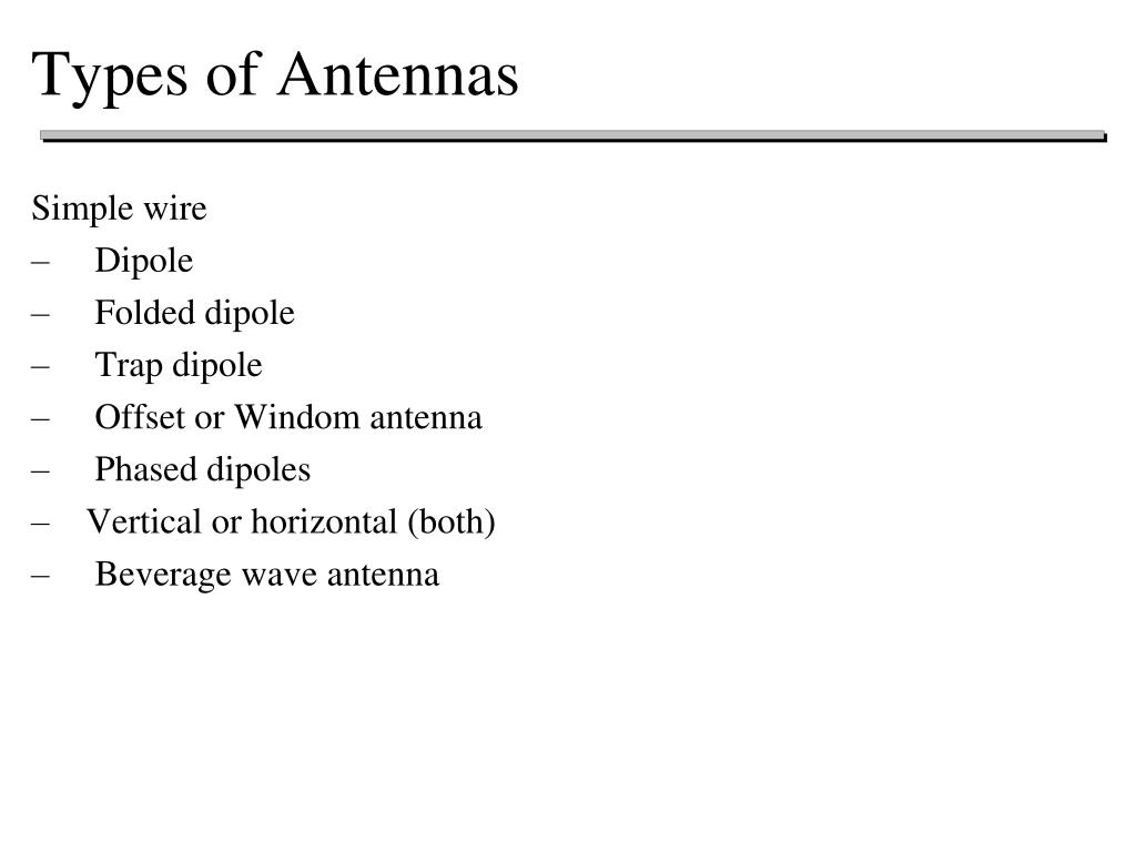 PPT - Antennas PowerPoint Presentation - ID:4087822