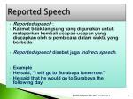 reported speech1