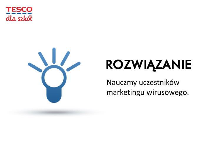Nauczmy uczestników marketingu wirusowego.
