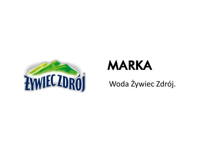 Woda Żywiec Zdrój.
