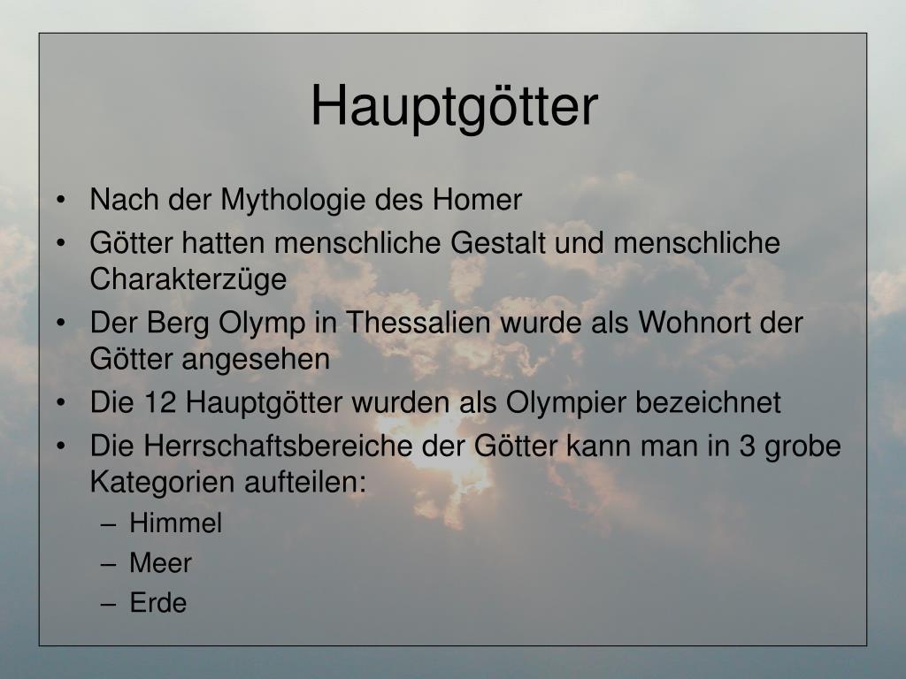 Götter Des Olymp Stammbaum