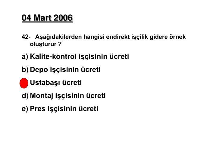 04 Mart 2006