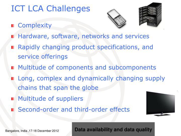 ICT LCA Challenges