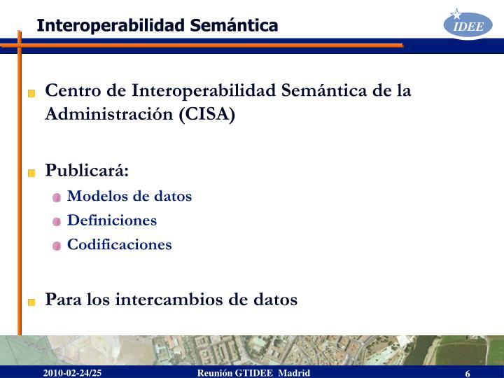 Interoperabilidad Semántica