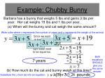 example chubby bunny
