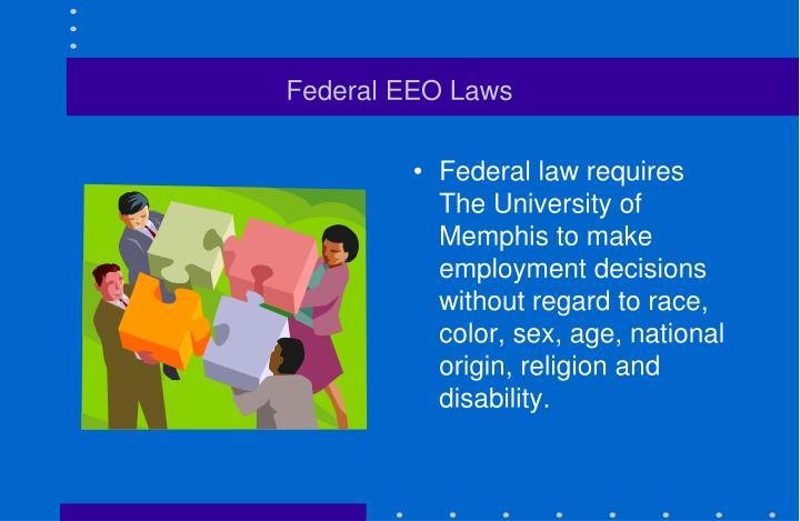 Federal EEO Laws