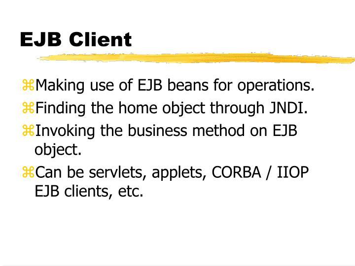 EJB Client