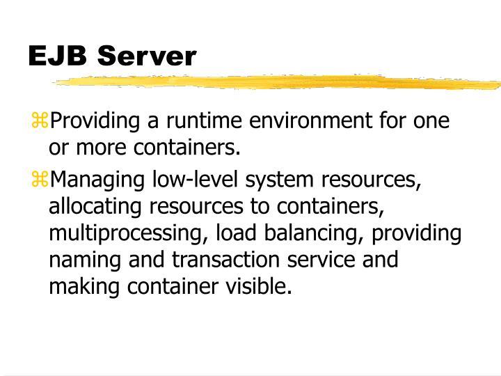 EJB Server