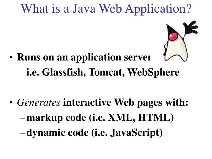 What is a Java Web Application?