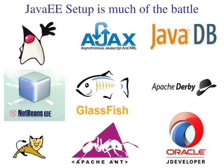 JavaEE Setup is much of the battle