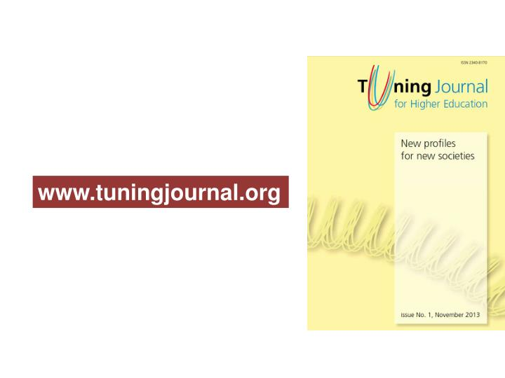 www.tuningjournal.org