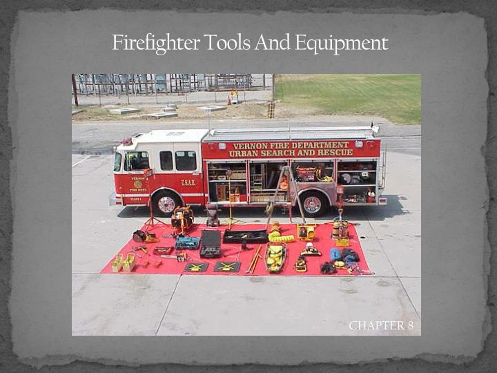 firefighter tools and equipment n.