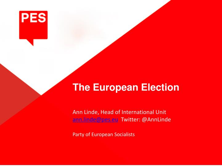 PPT - The European Election PowerPoint Presentation - ID:4089900