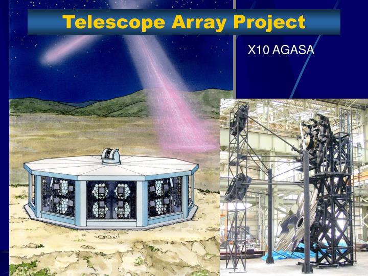 Telescope Array Project