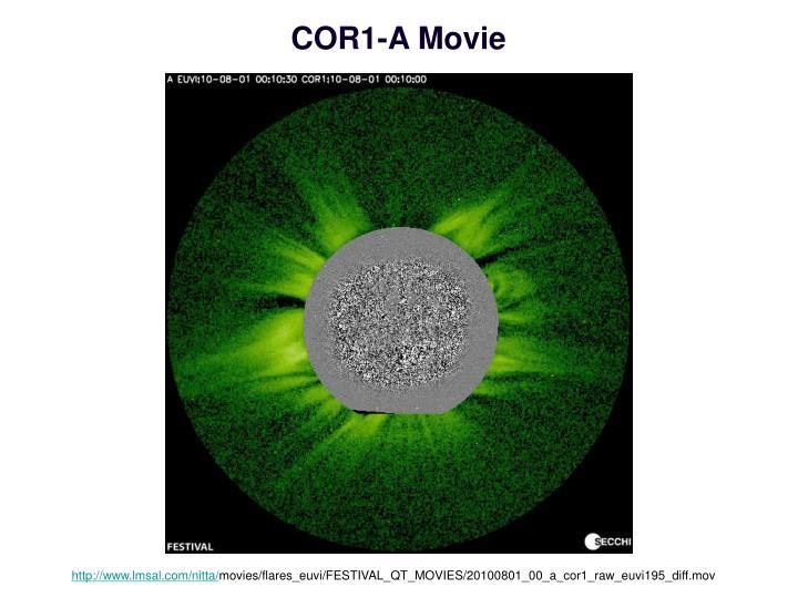 COR1-A Movie
