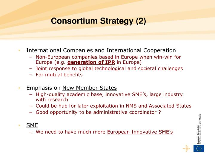 Consortium Strategy (2)