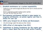 recommended changes to the draft coag s mou