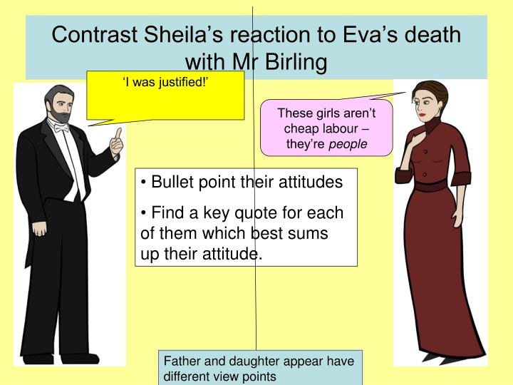 explore the ways in which priestley Exam questions an inspector calls  to the inspector • how priestley presents sheila by the ways he writes  how does priestley explore responsibility in an .