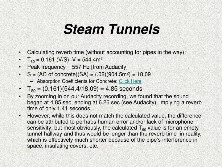 Steam Tunnels