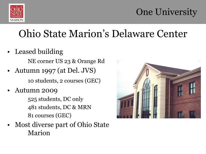 One University