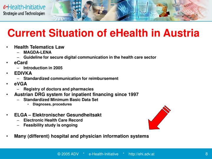 Current Situation of eHealth in Austria