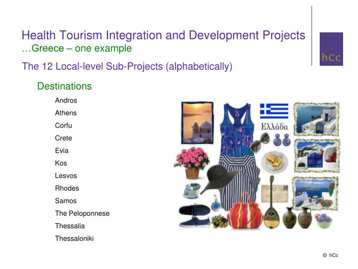 Health Tourism Integration and Development Projects