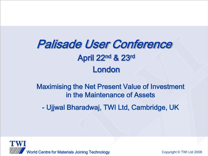 palisade user conference n.