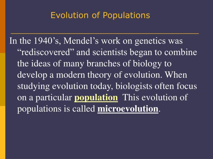 biology chapter 23 the evolution of populations Pearson education all rights reserved pearson benjamin cummings is an imprint of pearson.