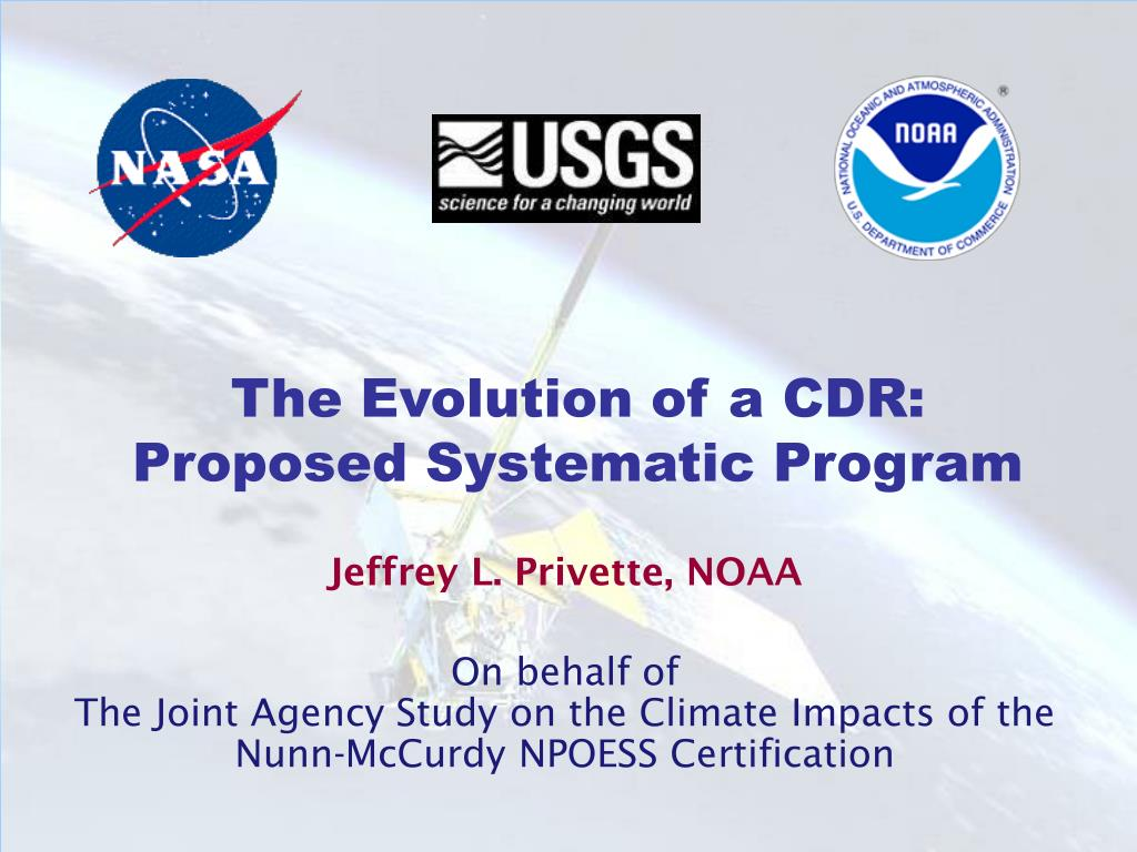 Ppt The Evolution Of A Cdr Proposed Systematic Program Powerpoint