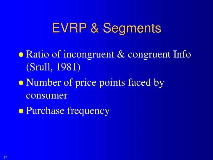 EVRP & Segments