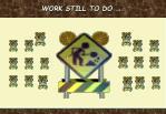 work still to do