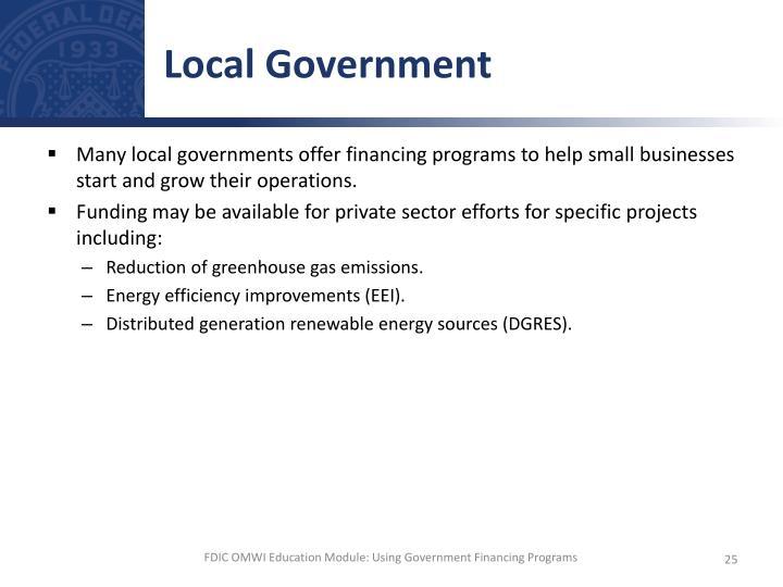 Local Government