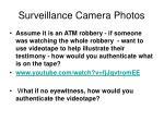 surveillance camera photos
