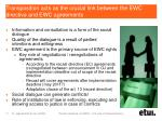 transposition acts as the crucial link between the ewc directive and ewc agreements