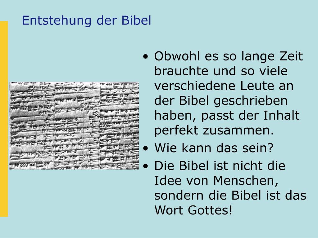 Wie Viele Bücher Hat Die Bibel