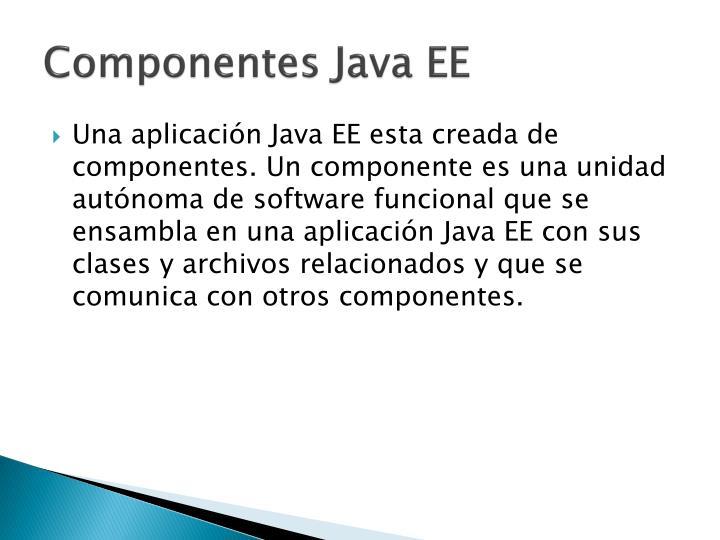 Componentes Java EE