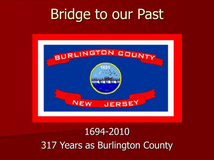 bridge to our past n.