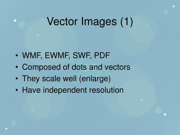 Vector Images (1)