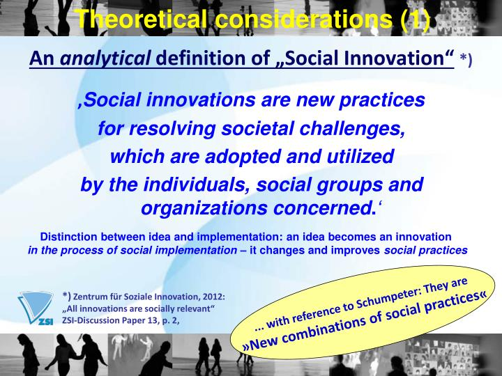 Theoretical considerations (1)