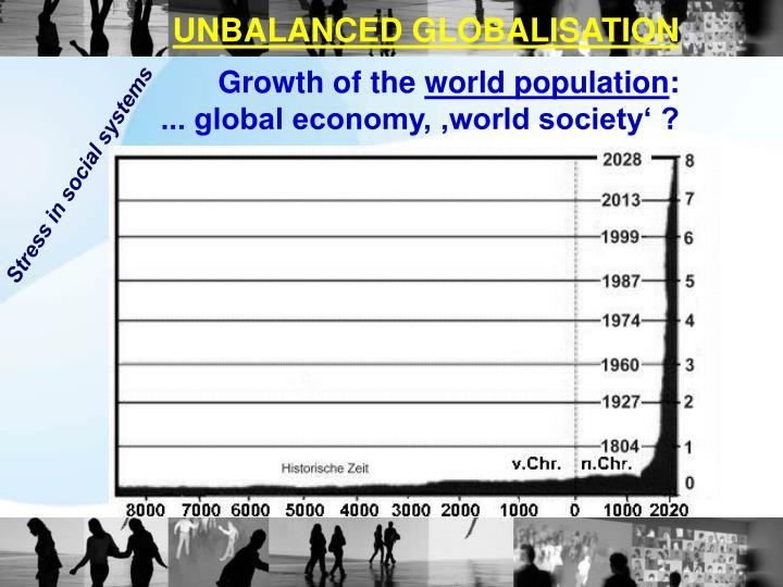 UNBALANCED GLOBALISATION