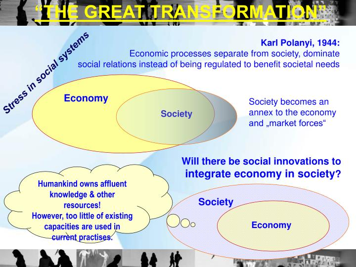 """""""THE GREAT TRANSFORMATION"""""""